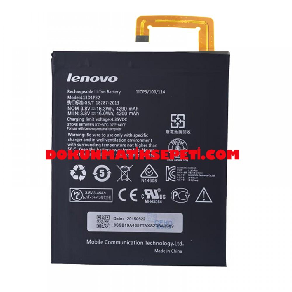 Lenovo TB3-850F Batarya Pil