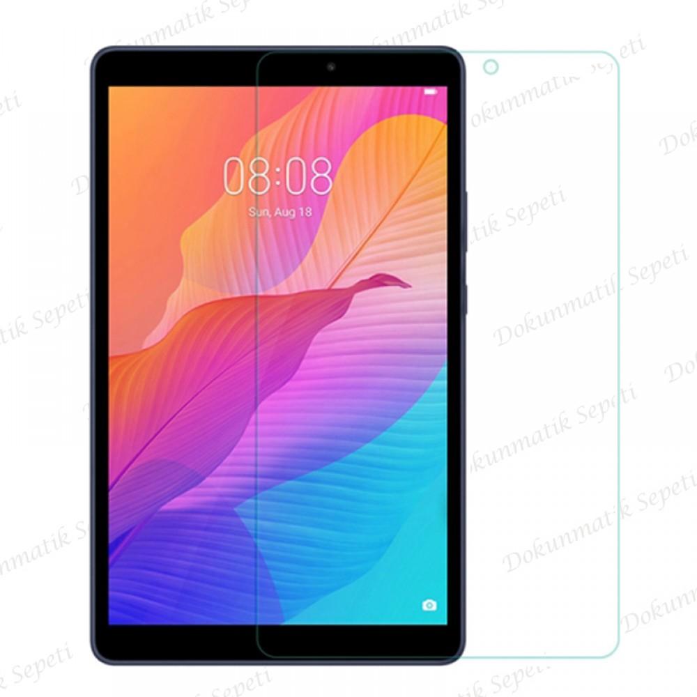 Huawei Matepad T8 KOB2-W09 Kırılmaz Ekran Koruyucu Tempered Cam